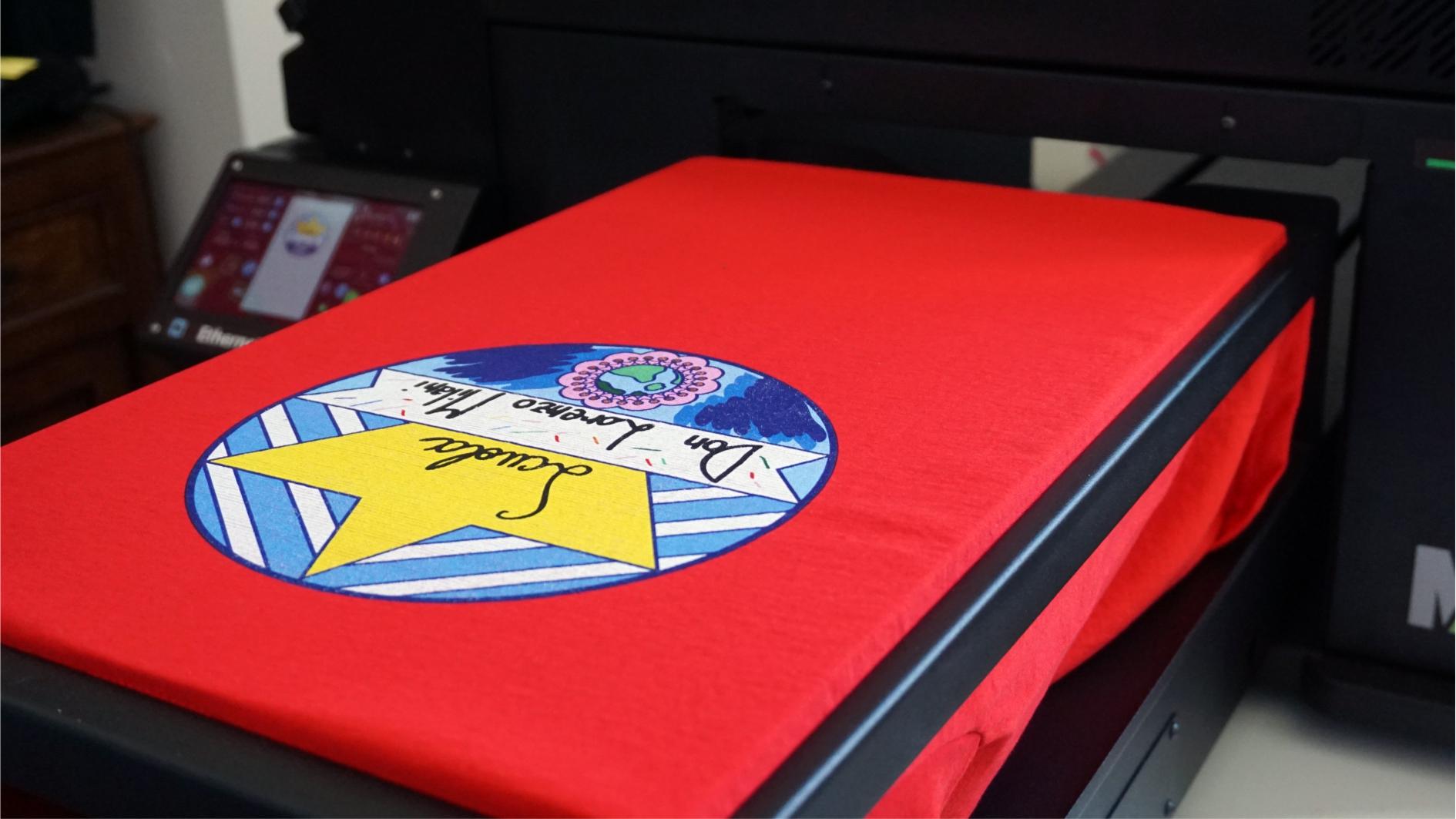stampa digitale diretta su tessuto Lineaerre