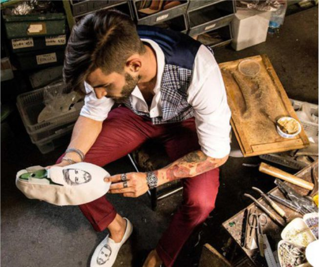 Melchiorre Face Shoes