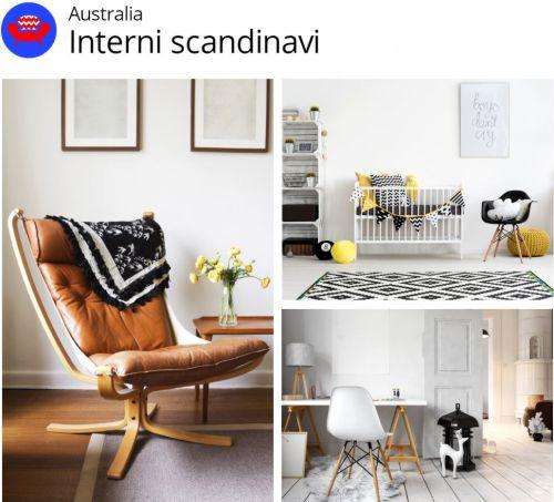 Tendenze creative shutterstock Australia interni scandinavi