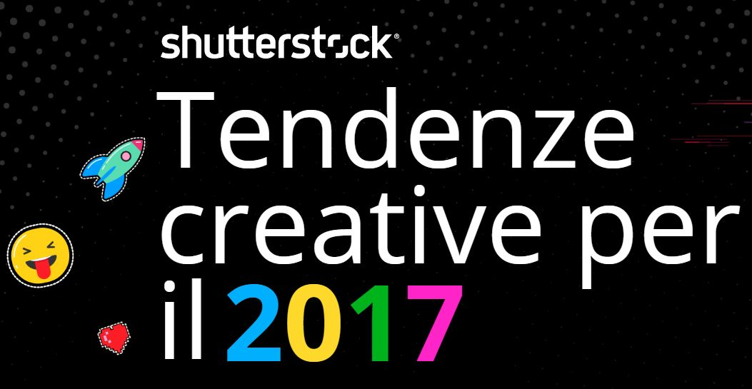 Lineaerre Tendenze creative 2017 Shutterstock