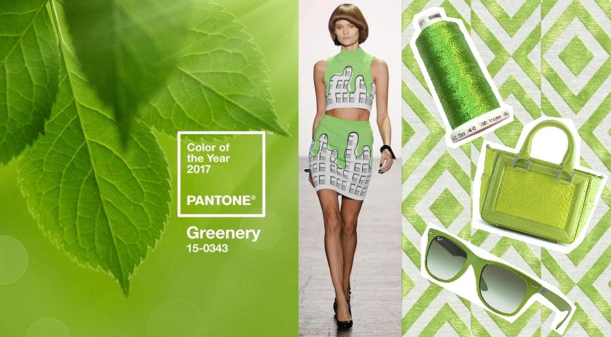 Come indosseremo il verde nel 2017 non solo greenery for Verde pantone 2017