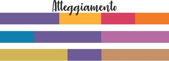 Ultra Violet mix color atteggiamento