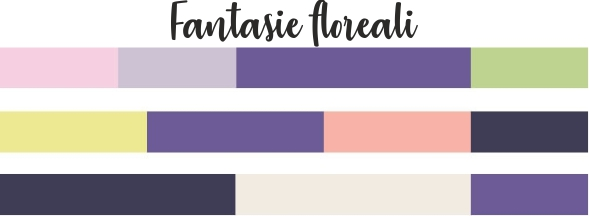 Ultra Violet mix color fantasie floreali