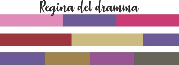 Ultra Violet mix color regina del dramma